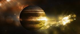 Jupiter v Škorpijonu